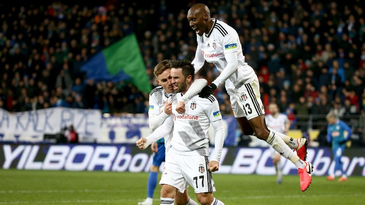 Beşiktaş, Sergen Yalçın'la ilk maçından galip ayrıldı
