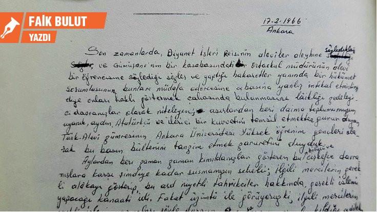 Alevi öğrencilerin Şubat 1966 Bildirisi: Varlık mücadelesine devam…