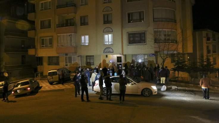 Ankara'da dört katlı bina boşaltıldı