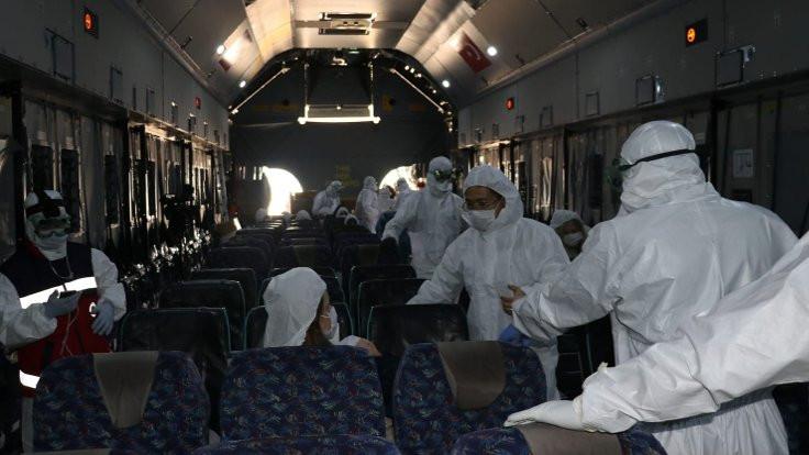 Sağlık Bakanı: Çin'den getirilenlerde virüs yok