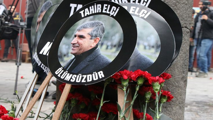 Tahir Elçi cinayeti: Üç polis şüpheli