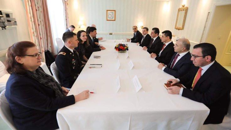 Barzani ve Esper'den üç gündemli toplantı