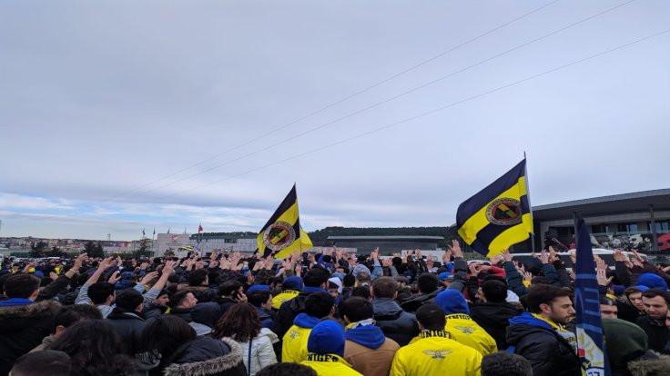 Fenerbahçe taraftarından 'TFF istifa' yürüyüşü