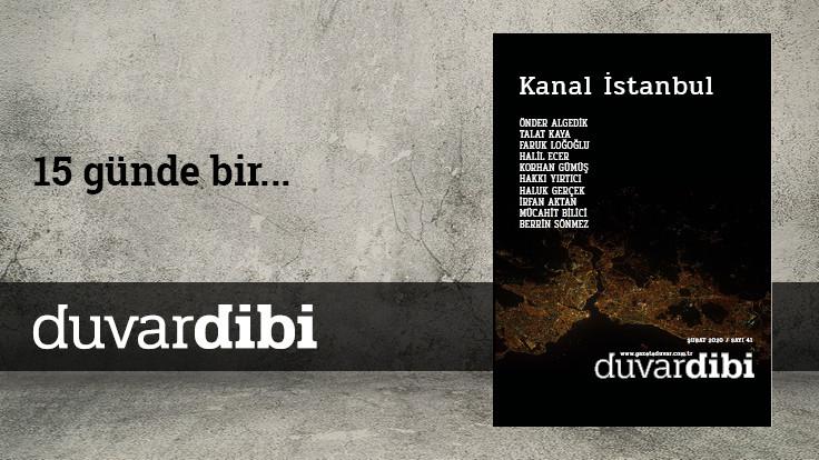 Duvardibi: Kanal İstanbul