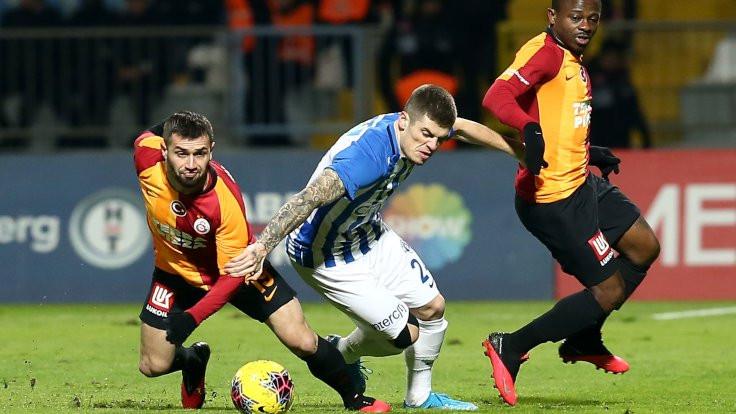 Galatasaray'dan üst üste beşinci galibiyet