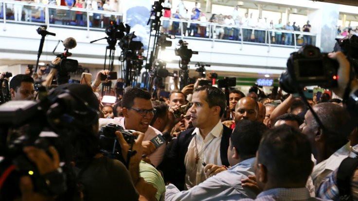 Venezuela'da 'çerezli' Guaido protestosu