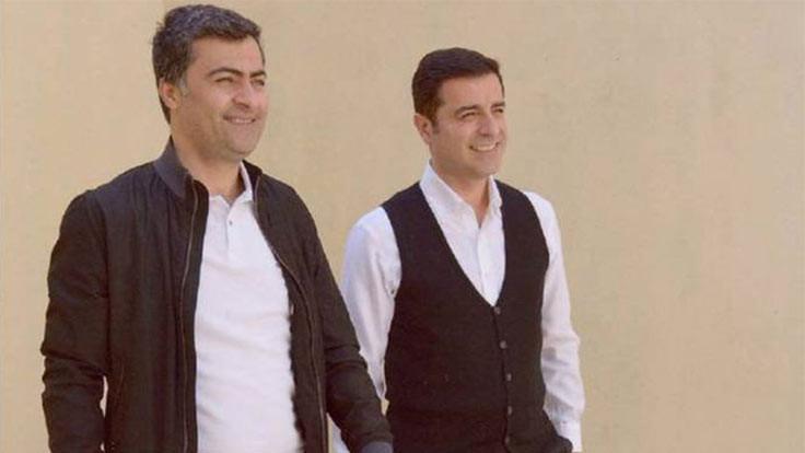Demirtaş ve Zeydan'dan HDP'ye kutlama