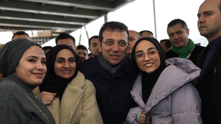 İmamoğlu'ndan Tayfun Kahraman'a Gezi desteği