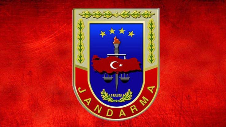 Jandarma'dan Kızılay'a destek mesajı