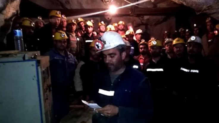 İşveren madendeki işçilerle iletişimi kesti