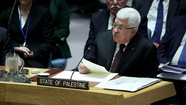 Abbas: İsrail müzakereye hazırsa ben de hazırım