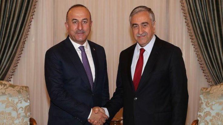 Çavuşoğlu da Akıncı'ya tepki gösterdi: Ben böylesine dürüst olmayan bir siyasetçiyle çalışmadım
