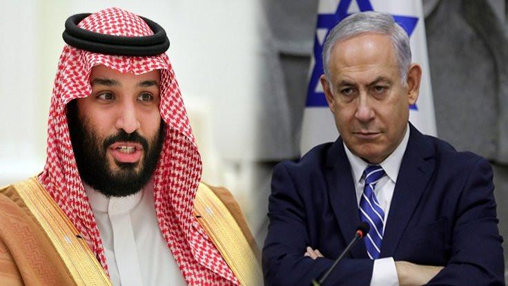 Netanyahu, Prens Selman'ın peşinde