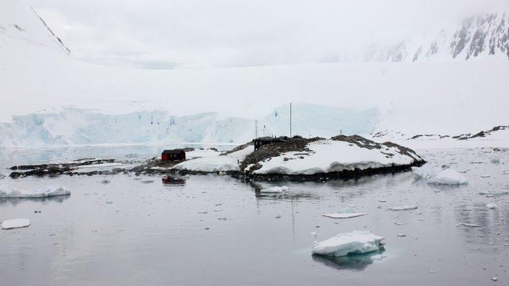 Sadece penguenlerin yaşadığı adaya postacı aranıyor