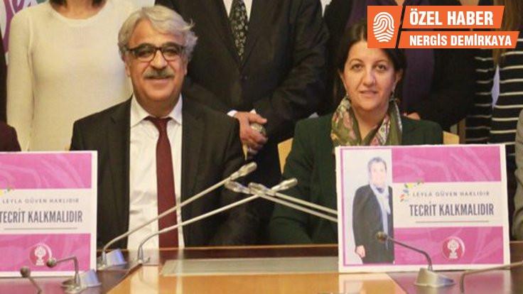 HDP'de eş genel başkan adayları Sancar ve Buldan