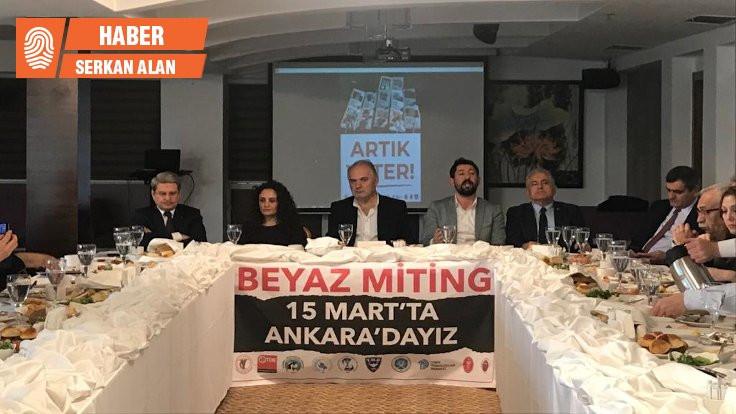 Sağlıkçılar: Tandoğan'ı beyaza boyamak istiyoruz