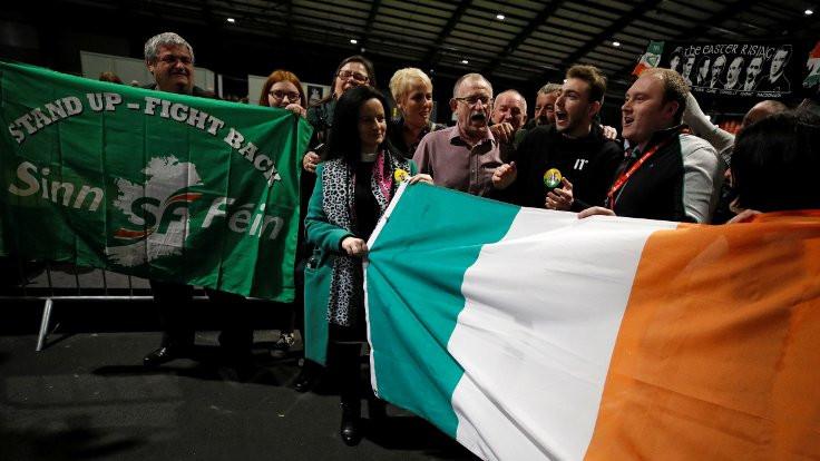 İrlanda'da Sinn Féin'den oy patlaması