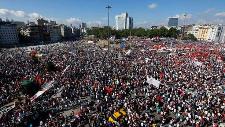 'Ben de oradaydım, Gezi'deydim'