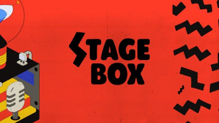 Sevilen ünlüler Stage Box'ta