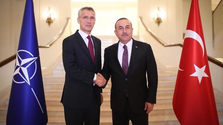 Çavuşoğlu, NATO Genel Sekreteri'yle görüştü