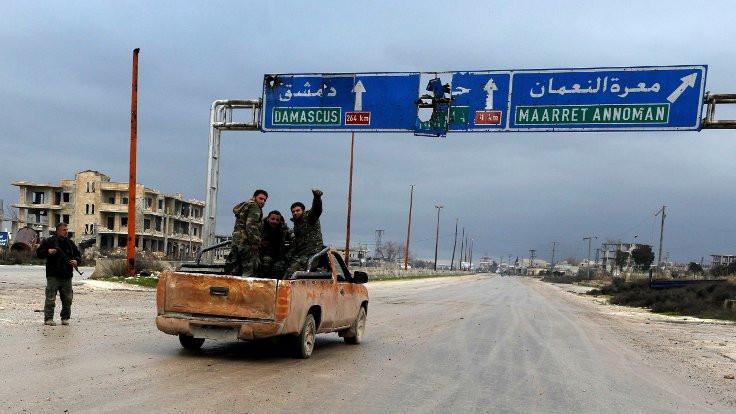 Suriye ordusu Halep-Şam karayolunda kontrolü sağladı
