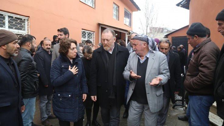 HDP ve DBP'den Van'da taziye ziyareti