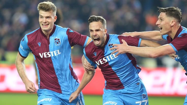 Trabzonspor, Sörloth ve Novak'la kazandı