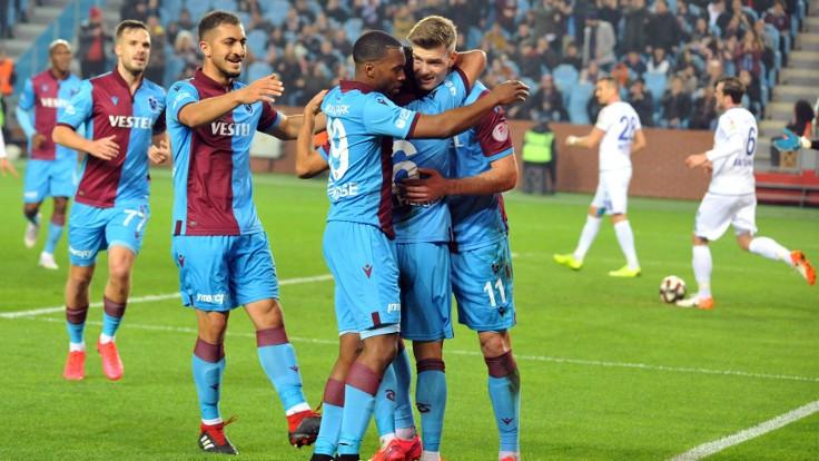 Trabzonspor kupada da 'fırtına': 5-0