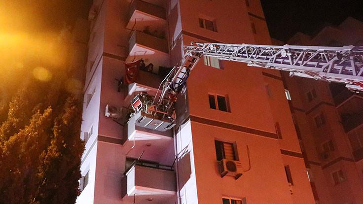 11 katlı bina tahliye edildi