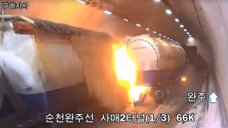 Güney Kore'de 1 dakika boyunca çarpıştılar: 5 ölü