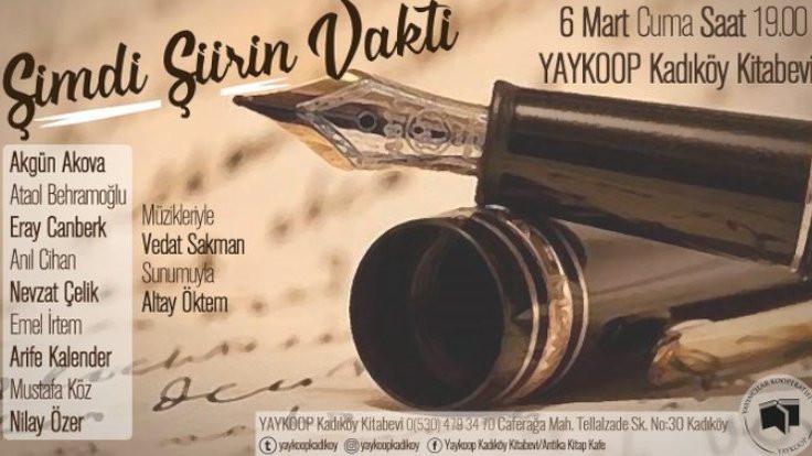 'Şiirin Vakti' Kadıköy'de