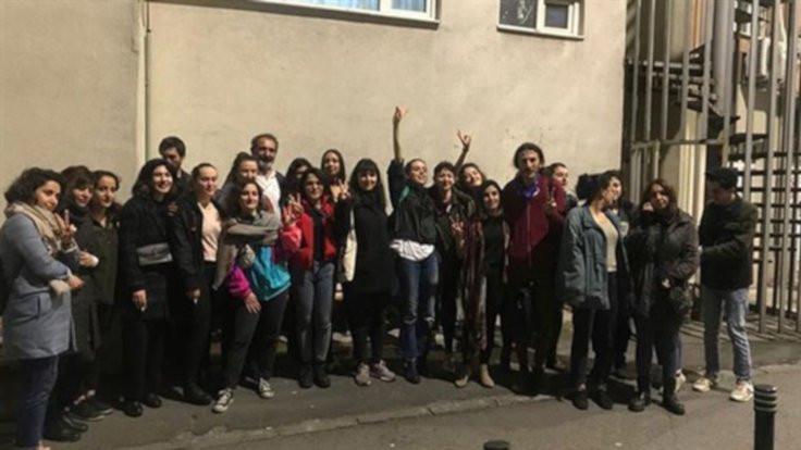 Gözaltındaki kadınlar serbest bırakıldı