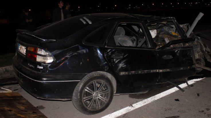 Osmaniye'de kaza: 1 ölü, 5 yaralı