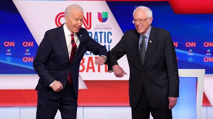 Sanders ve Biden: ABD'de test kiti yetersiz