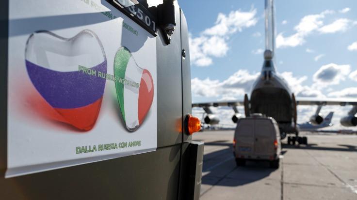 Rusya: İtalya'dan karşılık beklemiyoruz