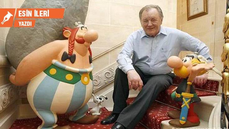 Uderzo öldü, yaşasın Asteriks