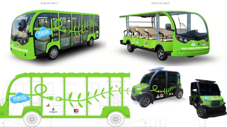 İBB, Adalar için 60 elektrikli araç aldı