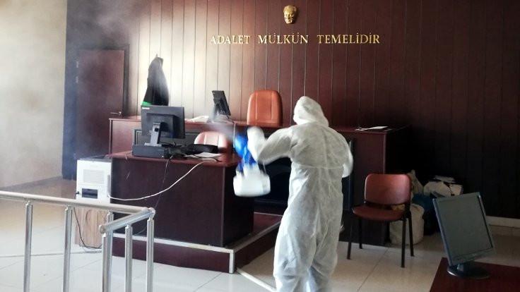 Adalet Bakanı Gül, Bakanlığın korona virüsü tedbirlerini açıkladı
