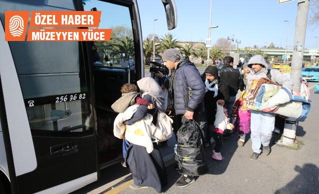 'Ankara'daki mülteciler zorla sınıra taşınıyor'