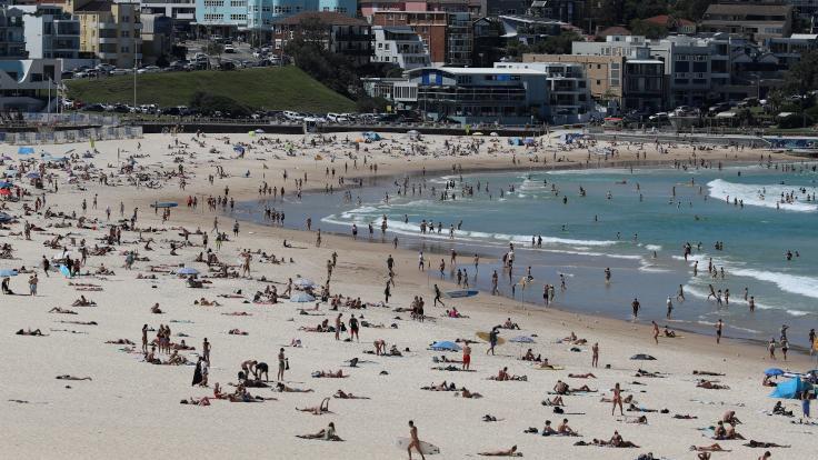 Avustralya'da en çok gençler enfekte oldu