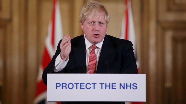 Boris Johnson'ın korona virüsü testi pozitif çıktı