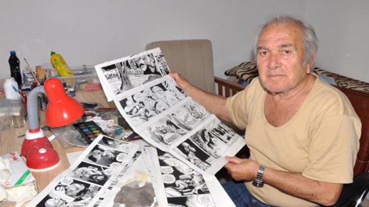 Kara Murat'ın çizeri öldü