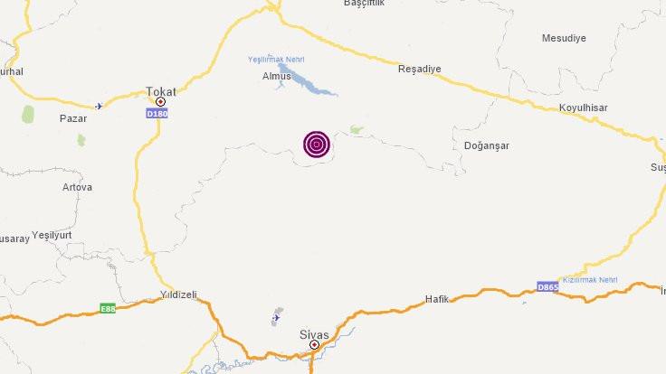 Tokat'ta 4.2'lik deprem