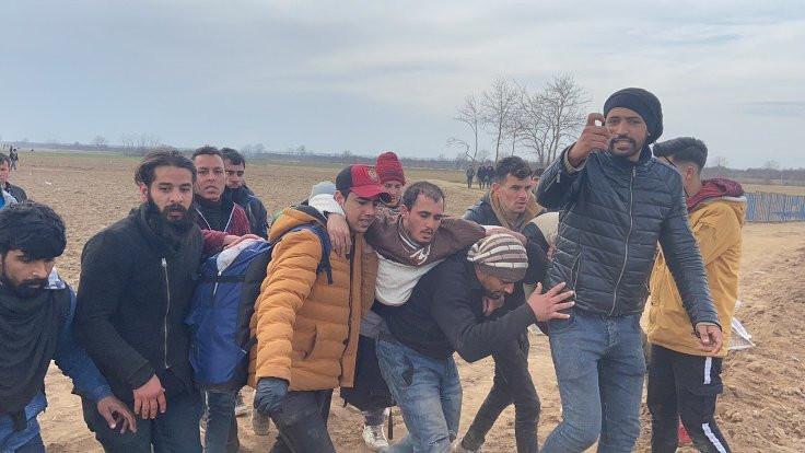 Edirne'de milletvekilleri inceleme yaparken mültecilere ateş açıldı: Bir ölü