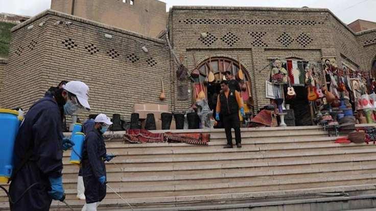 Erbil'de sokağa çıkma yasağı