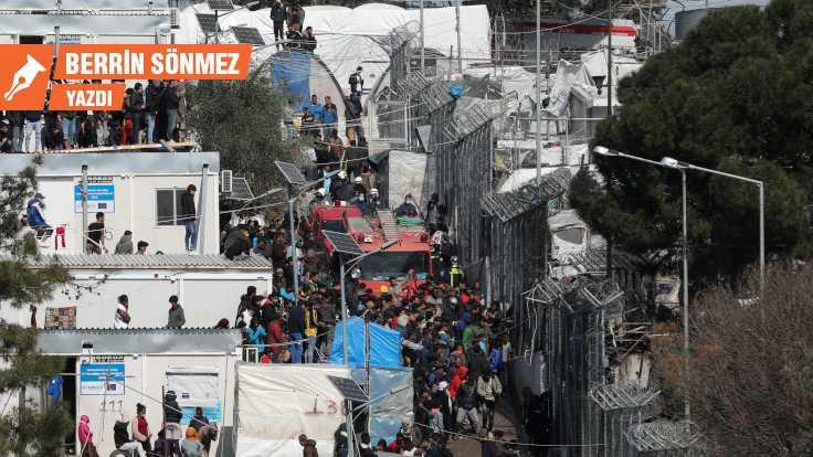 Salgınla mücadelede bile göçmenlere yer yok