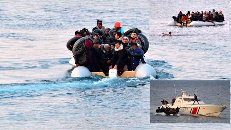 Korkulan oluyordu... Mülteciler ölümden döndü