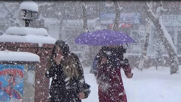 5 il için kar yağışı uyarısı