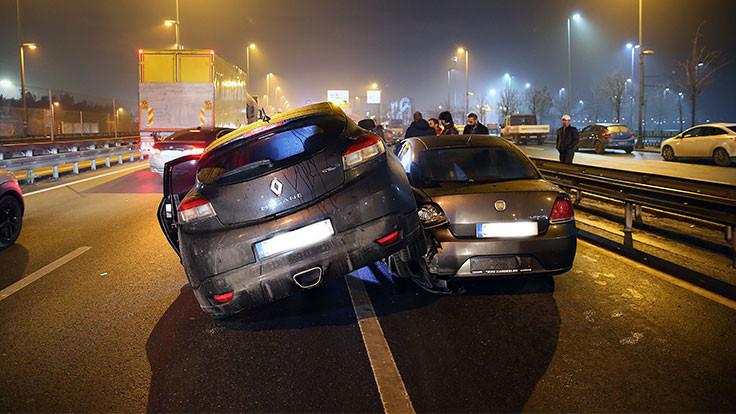 İstanbul'da kaza: İki yaralı