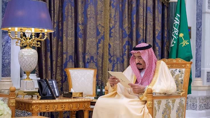 Suudi Kralı'nın yeni fotoğrafları